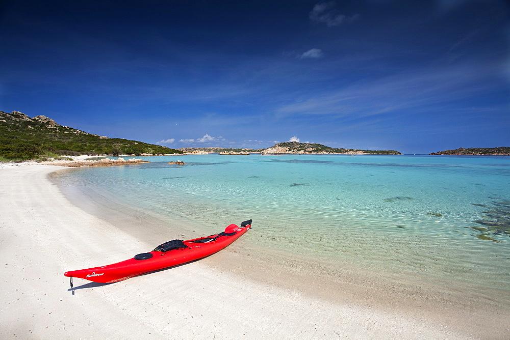 Spiaggia di Cavalieri, Isola di Budelli island, La Maddalena (OT), Sardinia, Italy, Europe