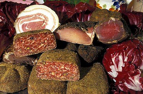 Typical delicatessen, Friuli Venezia Giulia, Italy