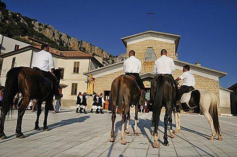 San Pietro feast, Baunei, Ogliastra, Sardinia, Italy, Europe