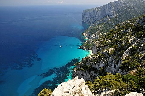 Baunei. Gulf of Orosei. Sardinia, Italy, Europe
