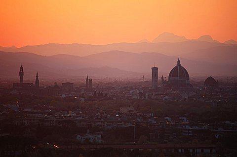 Cityscape, Florence, Tuscany, Italy, Europe, UNESCO World Heritage Site