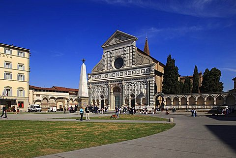 Santa Maria Novella church, Florence, Tuscany, Italy, Europe, UNESCO World Heritage Site