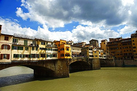 Ponte Vecchio bridge, Florence, Tusacany, Italy, Europe, UNESCO World Heritage Site