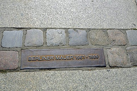 Berliner Wall Memorial, Friedrichstrasse, Berlin, Germany, Europe