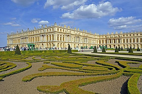 Garden and  Palace of Versailles, Versailles, Paris, Ile-de-France, France, Europe