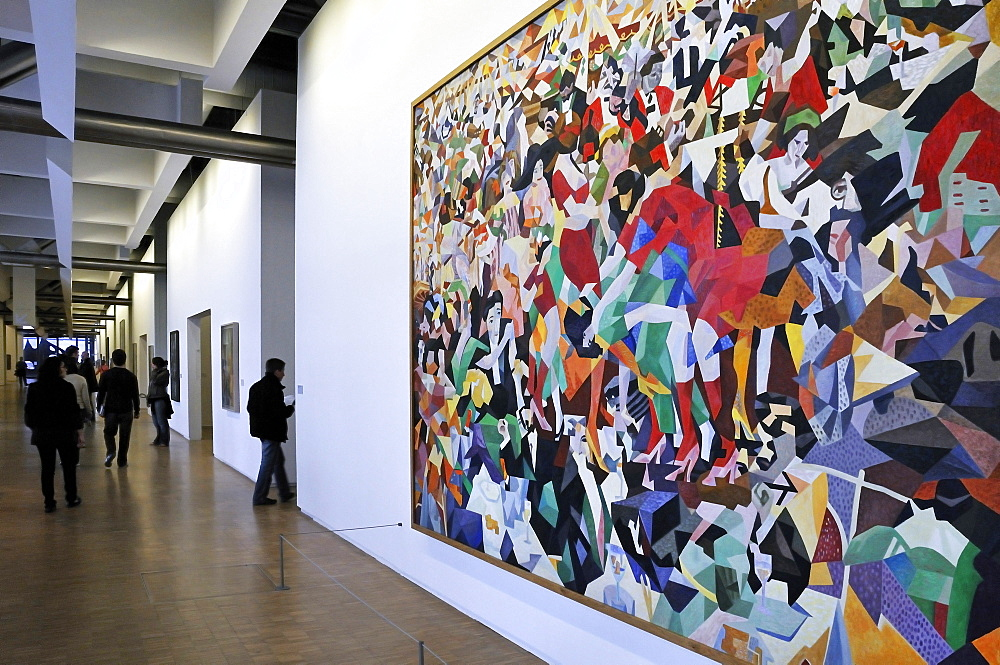 Joan Mirv=, Musee National d'Art Moderne, Centre Georges Pompidou, Beaubourg, Paris, Ile-de-France, France, Europe