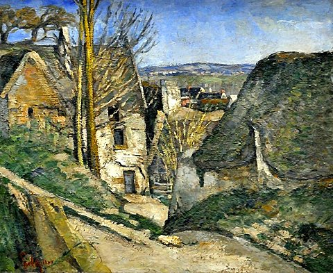 The Hanged Man's House, Paul Cezanne, Musee d'Orsay, Paris, Ile-de-France, France, Europe