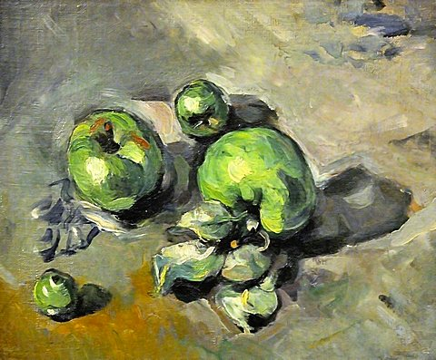 Green Apples, Paul Cezanne, Musee d'Orsay, Paris, Ile-de-France, France, Europe