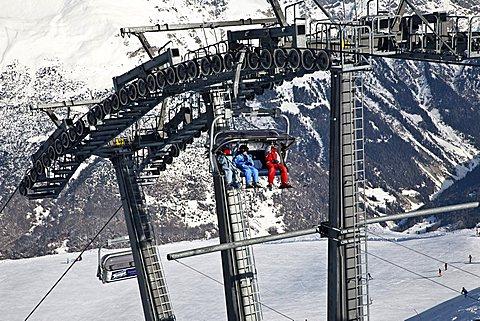 Lift, Bormio, Sondrio, Lombardy, Italy, Europe