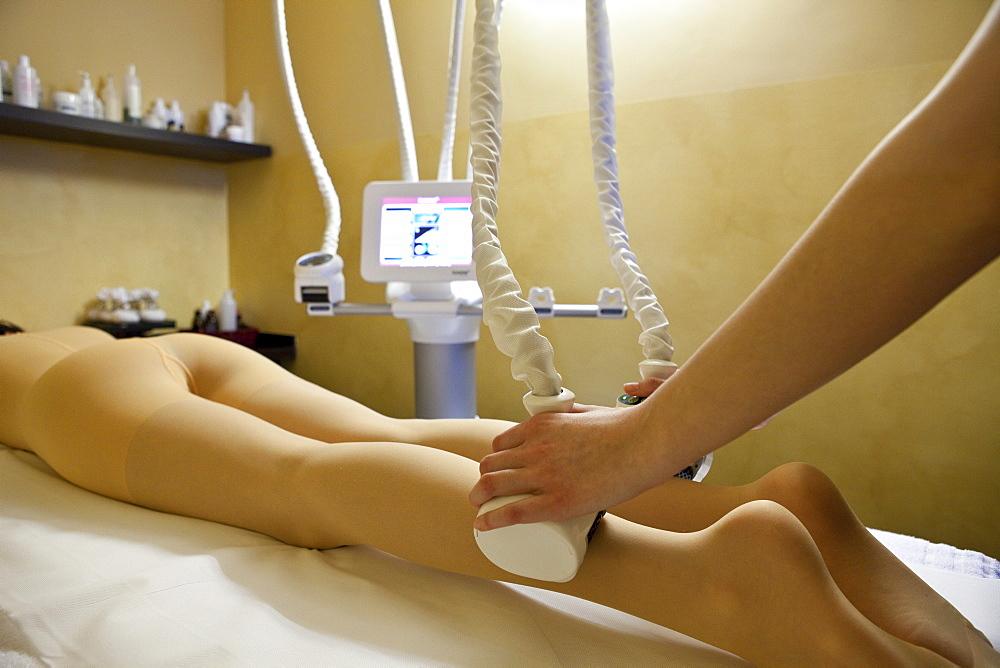 Bodycare treatment, Grand Hotel Helvetia, Porretta Terme, Bologna, Emilia, Italy, Europe