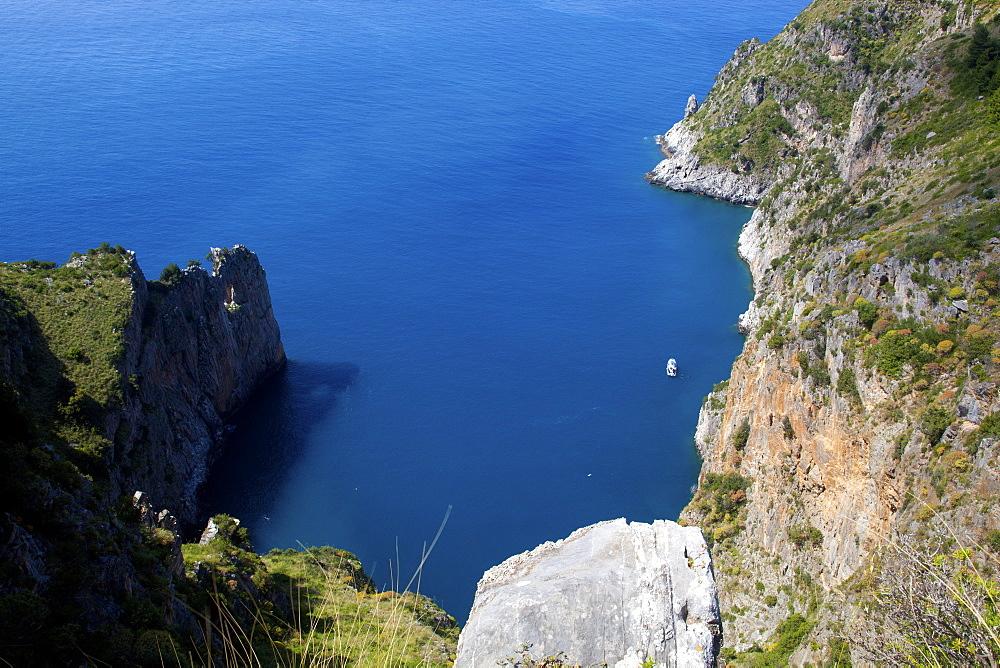 Sea view from Capo Palinuro, Parco Nazionale del Cilento e Vallo di Diano, Campania, Italy
