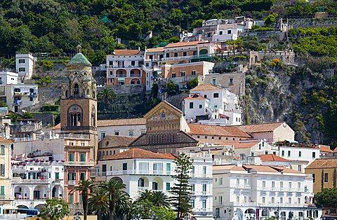 Duomo di Sant'Andrea, Amalfi, Gulf of Salerno, Amalfi Coast, Campania, Italy
