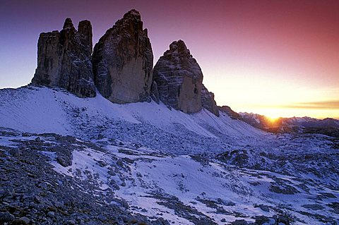 Tre cime di Lavaredo, Misurina (BL), Veneto, Italy