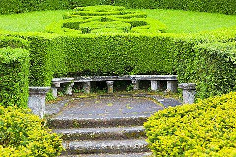 Italian Garden, Villa Lante, Bagnaia, Lazio, Italy