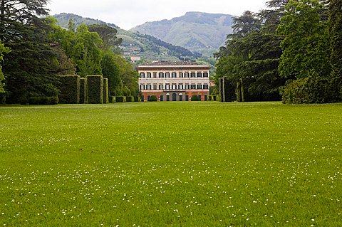 Villa Marlia, Capannori, Tuscany, Italy