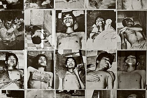 Tuol Sleng Genocide Museum, Phnom Penh, Cambodia, Southeast Asia