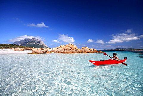 Isola Piana island, Porto San Paolo, Loiri (OT), Sardinia, Italy, Europe