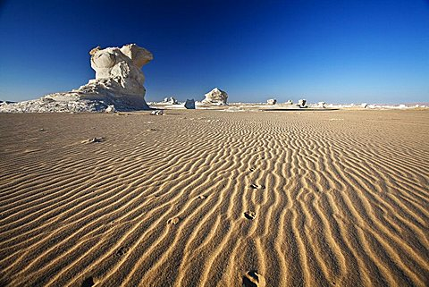 White desert, Farafra,  Egypt , North Africa