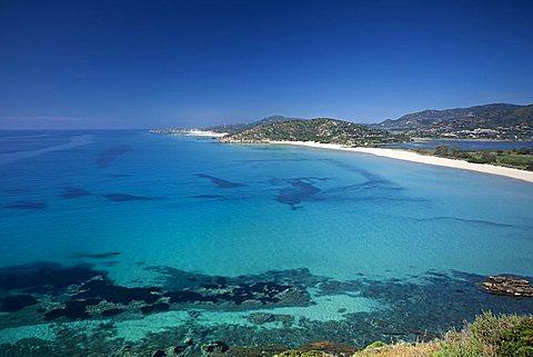 Coast near Chia, Domus De Maria (CA), Sardinia, Italy