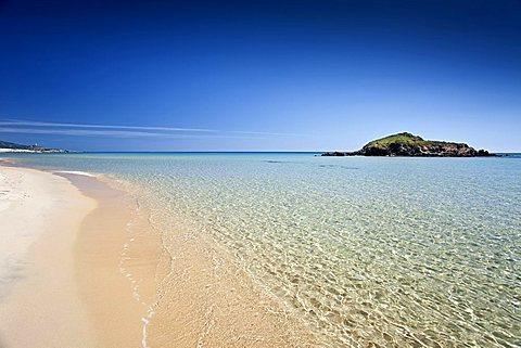 Spiaggia Su Giudeu beach, Chia, Domus De Maria (CA), Sardinia, Italy
