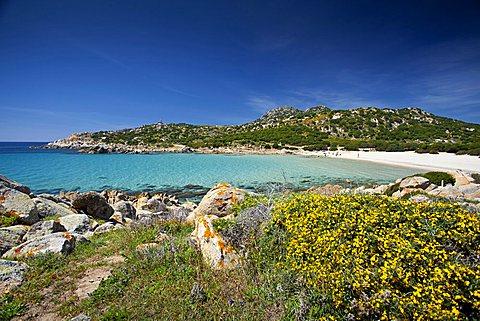 Cala Cipolla beach, Chia, Domus De Maria (CA), Sardinia, Italy, Europe