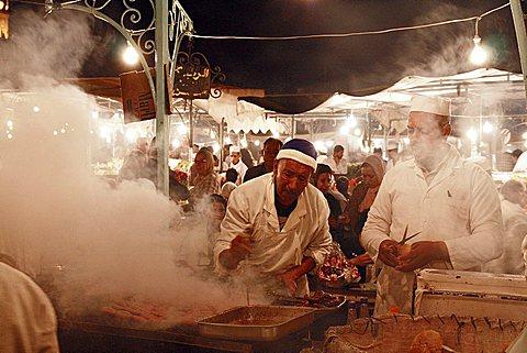 Djemaa el Fna square, Marrakech, Morocco Medina, Marrakech, Morocco, North Africa