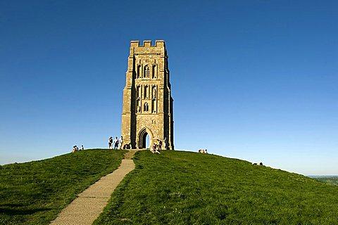 Tor, Glastonbury, Somerset, England, United Kingdom, Europe