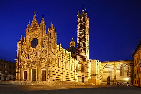 Cathedral, Siena, UNESCO, World Heritage Site, Tuscany, Italy, Europe