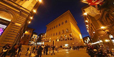 Strozzi palace, Florence,Tuscany, Italy, Europe