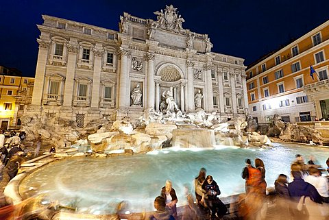 Trevi fountain, Rome, Lazio, Italy, Europe