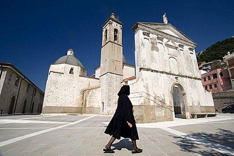 San Nicola church, Baunei, Ogliastra, Sardinia, Italy