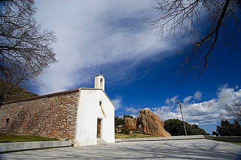San Vincenzo Ferreri church, Arzana, Provincia Ogliastra, Sardinia, Italy