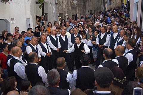 Coro Montesantu (Montesantu Choir), Baunei, Ogliastra, Sardinia, Italy