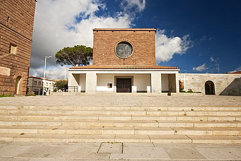 San Ponziano Church, Carbonia, Sardinia, Italy, Europe