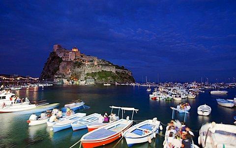 Ischia Porto,Ischia island, Neaples, Campania, Italy, Europe