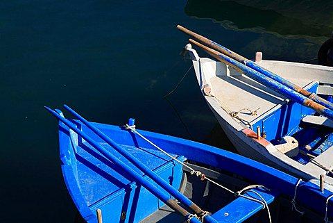 Fishing boat, Gallipoli, Apulia, Italy, Europe