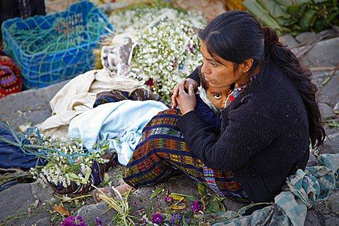 Chichicastenango, market, Quichvû, Guatemala, America