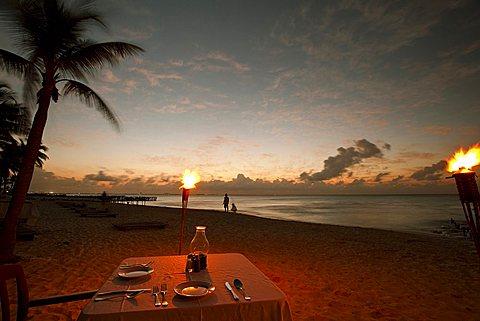 Dinner, Isla Mujeres, Yucatan, Mexico, America