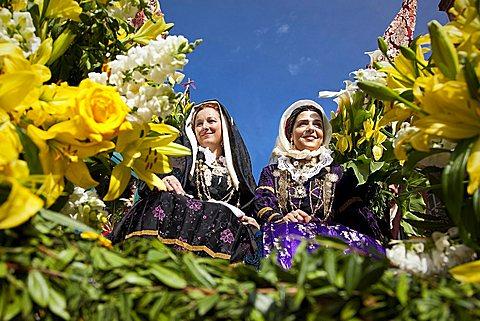 Sant'Efisio traditional event, the most important religious feast in Sardinia, Cagliari (CA), Sardinia, Italy, Europe
