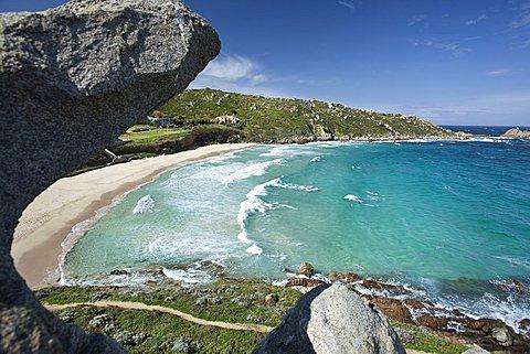 Spiaggia Rena Bianca, Santa Teresa Gallura (OT), Sardinia, Italy, Europe
