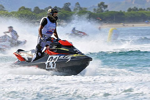 Aquabike World Championship, Arbatax, Sardinia, Italy, Europe