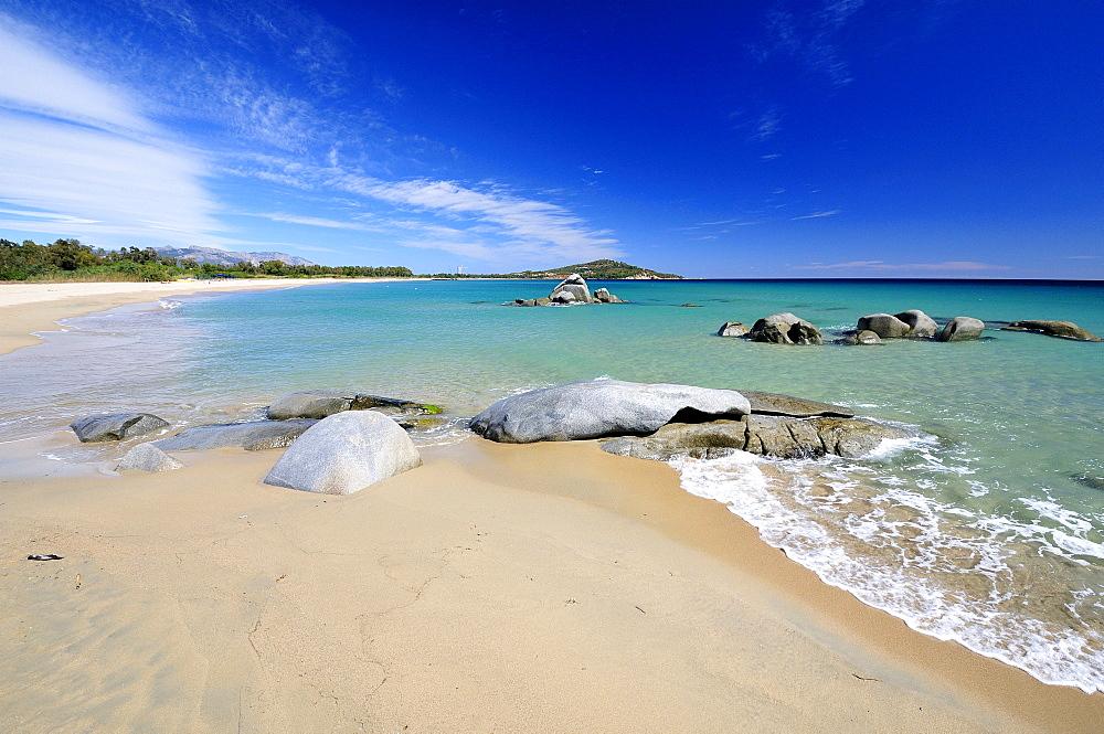 OrrvO beach, TortolvO, Sardinia, Italy, Europe