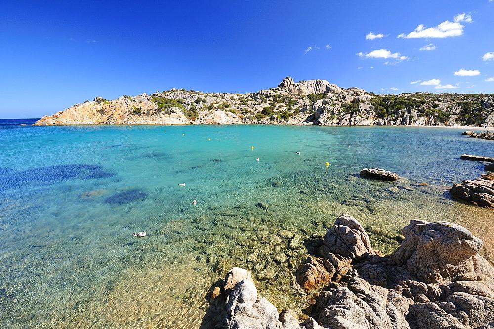 Spalmatore beach, La Maddalena, Sardinia, Italy, Europe