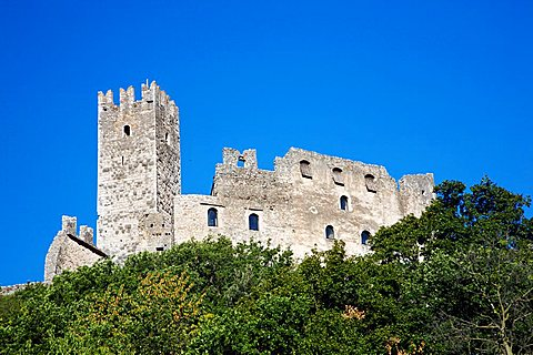 Drena castle, Laghi valley, Trentino Alto Adige, Italy, Europe