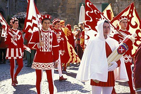 Corpus Domini procession, Orvieto, Umbria, Italy