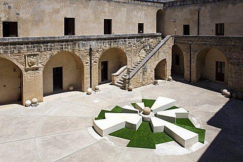 Aragonese castle, Otranto, Salento, Apulia, Italy