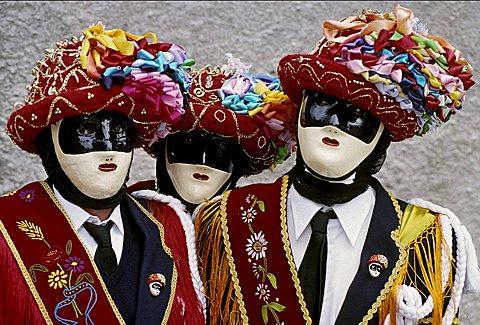Traditional carnival, Bagolino, Lombardy, Italy