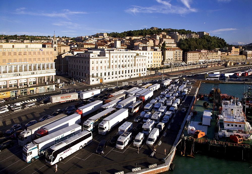 Harbour, Ancona, Marche, Italy
