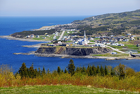 Grande-Vallee, East Coast, Gaspesie, Gaspe peninsula, Quebec, Canada, North America