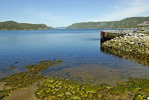 Fjord, Saguenay National Park, Cv¥te-Nord, Quebec, Canada, North America